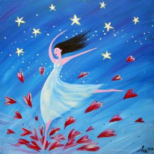 Dance For Joy by Ira Mirchell-Kirk (http://artbyira.bigcartel.com/)