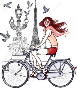 18093746-illustration-of-woman-on-Alexander-III-bridge-in-Paris--Stock-Vector