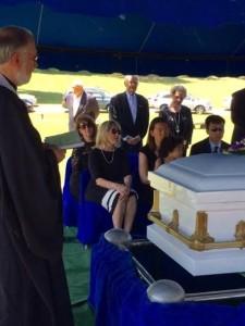 Fr B Cathy Su kids casket