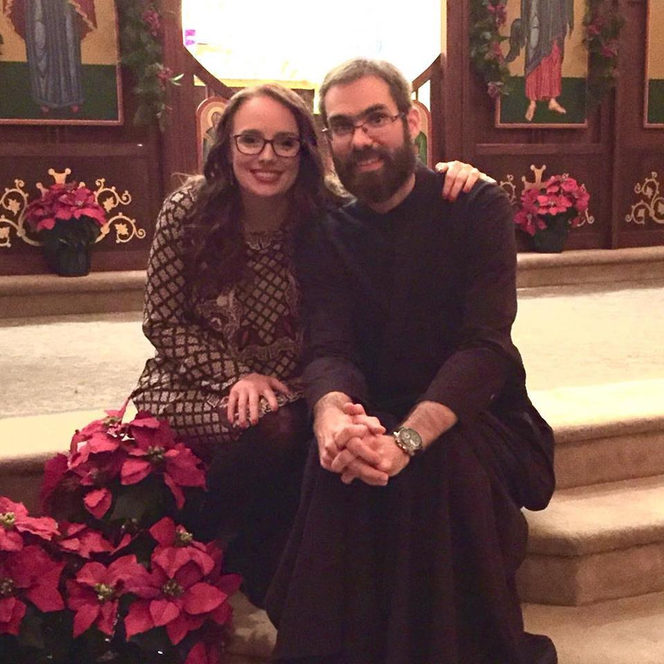 Kathryn and Father Philip Rogers, our new Pastor and his wonderful wife!