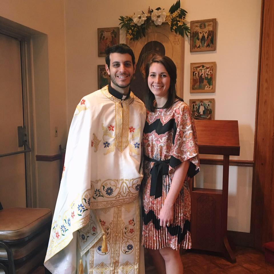 Father Alex and Amanda Mackoul