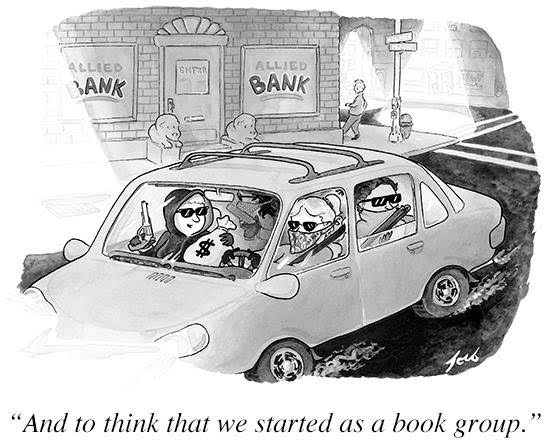 book group robbers
