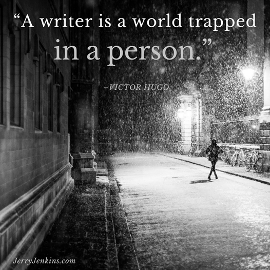 writer world trapped in person