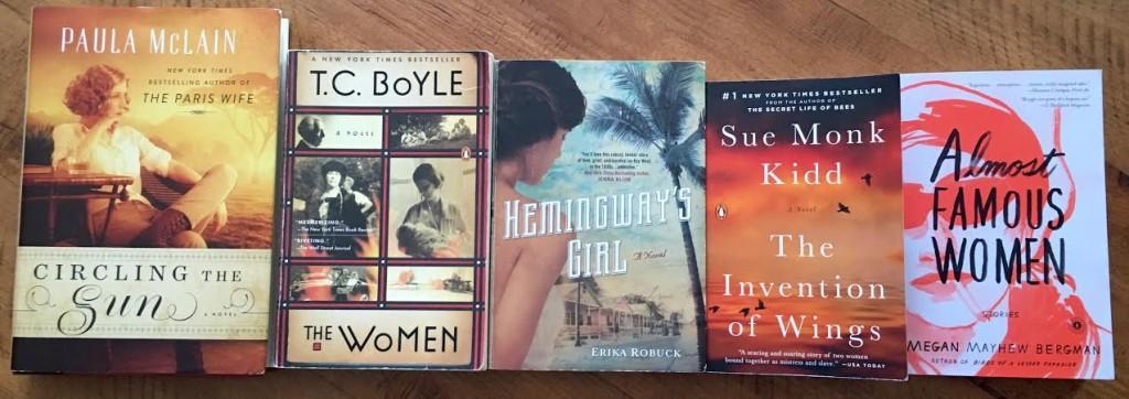 5 books horizontal