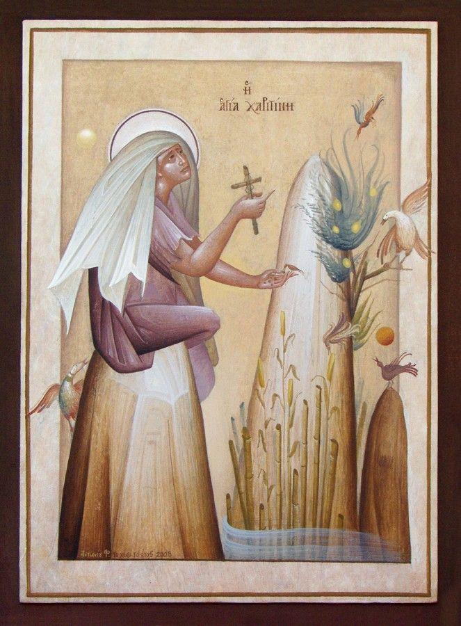 Saint Charitine by Fikos