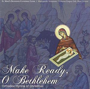 CD with Orthodox Hymns of Christmas http://www.svspress.com/make-ready-o-bethlehem-orthodox-hymns-of-christmas/