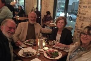 Bill, Tom, Ellen and me at Mariza