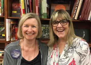 Cassandra and Susan Sq Bks Nov 2016