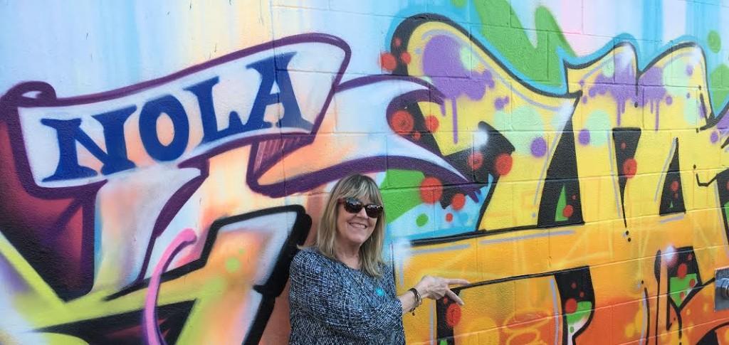 Susan w graff outside Ogden