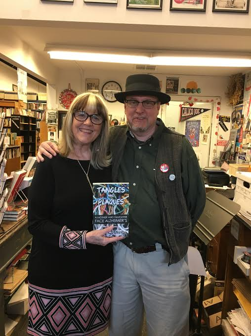 With Corey Mesler, owner of Burke's Books