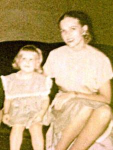 Mom and me circle 1953