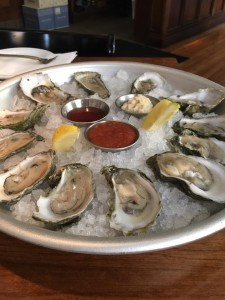 oysters at Amen