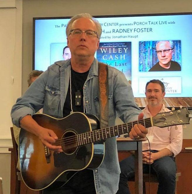 Singer-songwriter Radney Foster