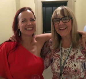 Celebrating with Beth Ann Fennelly (Poet Laureate of Mississippi) at the Mississippi Book Festival