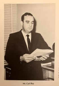 Mr. Carl Ray, Murrah High School, Jackson, Mississippi, 1969
