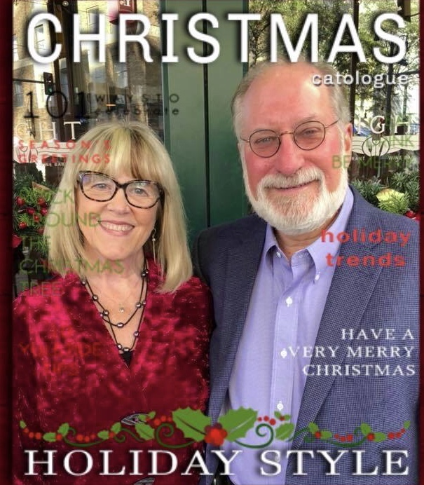Susan Bill Xmas Mag Cover