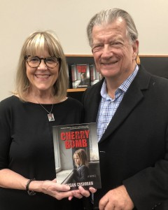 Great to see Leo Arnoult, my first boss in Memphis, at my book signing at Novel on December 14!