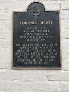 Faulkner House sign