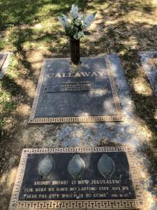 Mary Allison's grave
