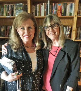 Kathy Kerr and me at Lemuria Books in 2017