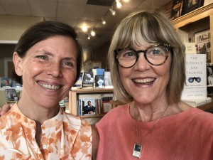 Kelle Barfield, owner of Lorelei Books, hosted my reading for Southern Writers on Writing on June 21