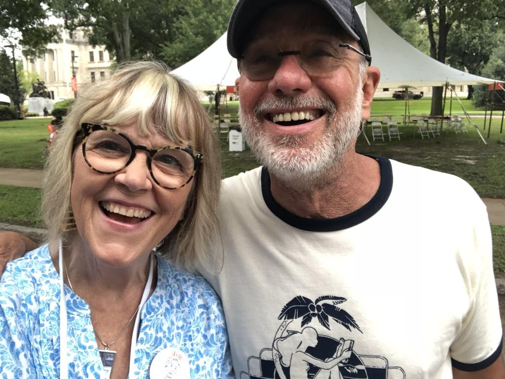 Susan w John Evans