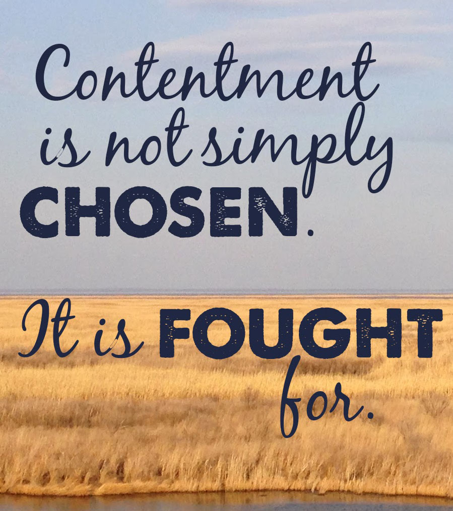 Contement is not chosen