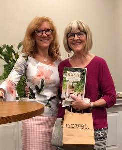 Lisa Patton w me at Novel