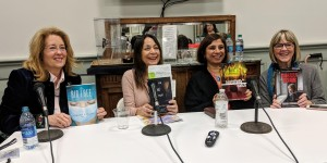 Panel for CHERRY BOMB, with three other women authors at the 2018 Louisiana Book Festival