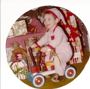 Christmas 1978. Jonathan was 16 months old. It was our first year to celebrate Christmas in the 8 years we had been married.