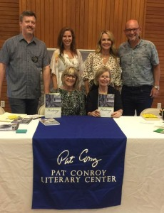 Harrison joined me on a panel for Southern Writers on Writing in Blufton, SC in September.